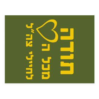 Cartão Postal Obrigados de todo o coração aos soldados do IDF -