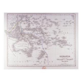 Cartão Postal Oceania (Austrália, Polinésia, e Malaysia)