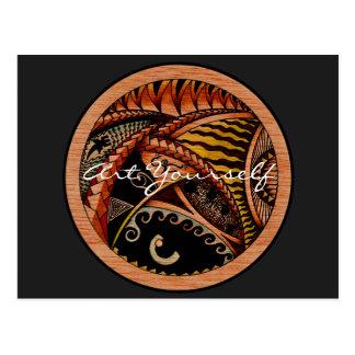 Cartão Postal Oceania ecléctico dois