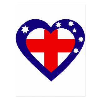 Cartão Postal oceania-heart.