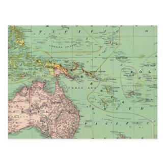 Cartão Postal Oceania, Malaysia