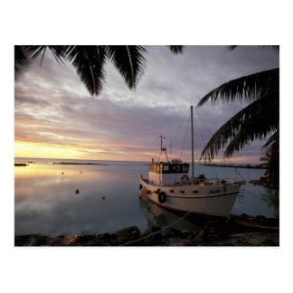 Cartão Postal Oceania, Polinésia, Ilhas Cook, Aitutaki,