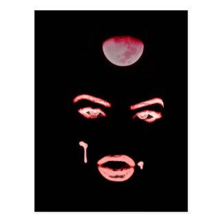 Cartão Postal olhos do vampiro