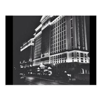 Cartão Postal Opinião preto e branco de Vegas