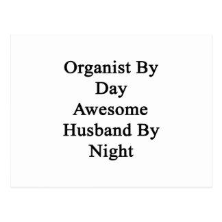 Cartão Postal Organista pelo marido impressionante do dia em a