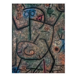 Cartão Postal Os boatos por Paul Klee