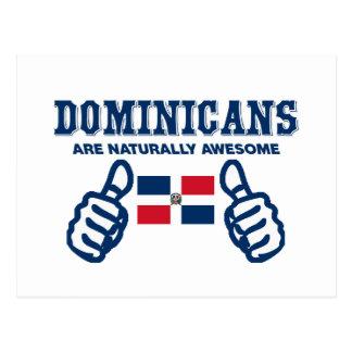Cartão Postal Os Dominicans são naturalmente impressionantes