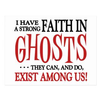 Cartão Postal Os fantasmas existem