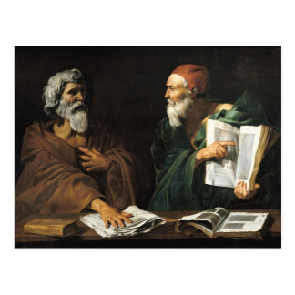 Cartão Postal Os filósofos