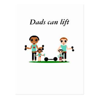 Cartão Postal Os pais podem levantar