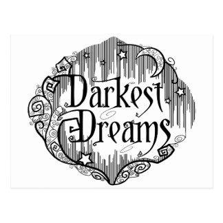 Cartão Postal Os sonhos os mais escuros