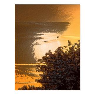 Cartão Postal Ouro puro
