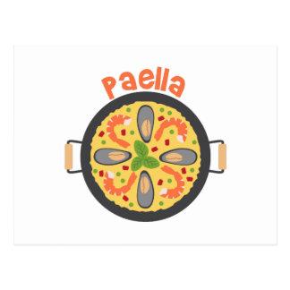 Cartão Postal Paella