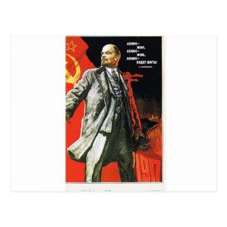 Cartão Postal pai de lenin de União Soviética