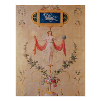 Cartão Postal Painel do boudoir de Marie-Antoinette