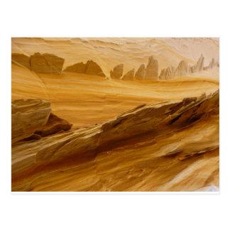 Cartão Postal Paisagem estrangeira do deserto