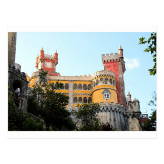 Cartão Postal Palácio de Pena, Sintra, perto de Lisboa,