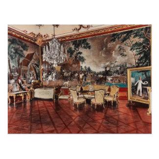 Cartão Postal Palácio de Shounbroune, interior, Viena, Áustria