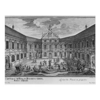 Cartão Postal Palácio em Munich, Alemanha