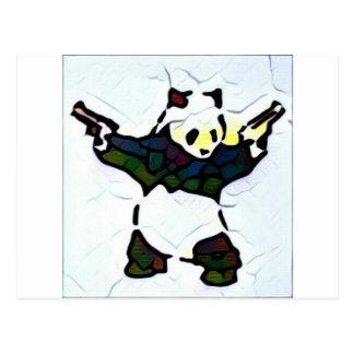 Cartão Postal Panda do assassino