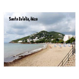 Cartão Postal Papai noel Eulalia, Ibiza