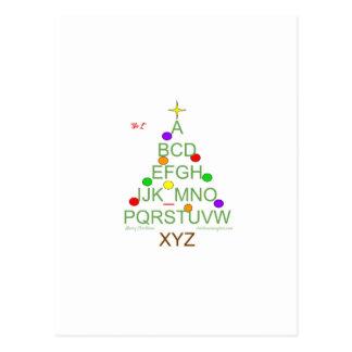 """Cartão Postal Papel de carta do escritório, """"nenhum L"""" árvore"""