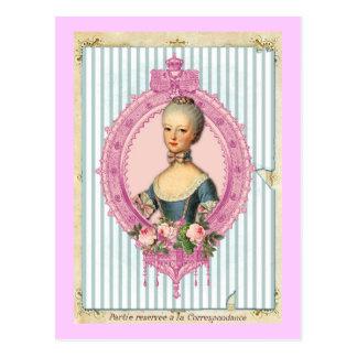 Cartão Postal Paris e Antoinette