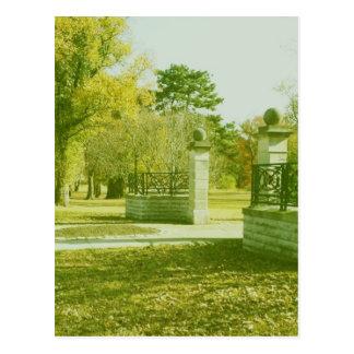 Cartão Postal Parque do bosque da torre: St Louis, MO