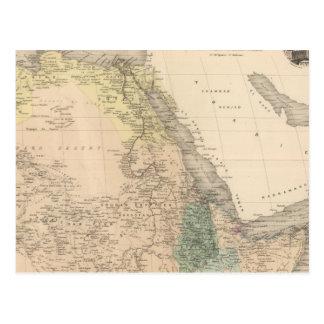 Cartão Postal Parte África do nordeste