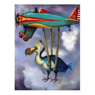 Cartão Postal Pássaro preguiçoso