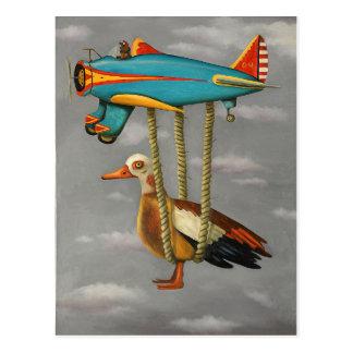 Cartão Postal Pássaro preguiçoso 2