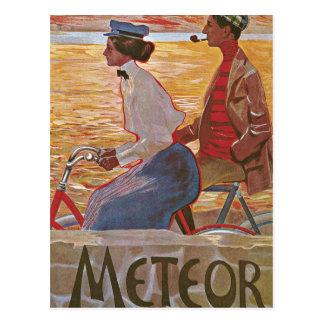 Cartão Postal Passeio da bicicleta da tarde