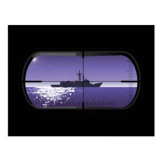 Cartão Postal Patrulha submarina