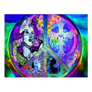 Cartão Postal Paz e harmonia
