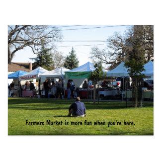 Cartão Postal PC: Os fazendeiros introduzem no mercado são mais