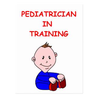 Cartão Postal pediatra