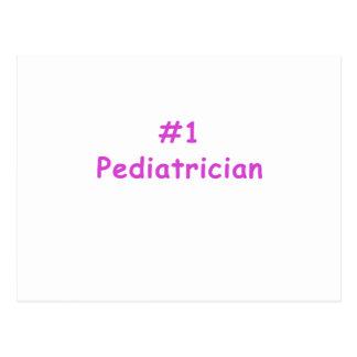 Cartão Postal Pediatra do número um