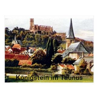 Cartão Postal Pedra de rei