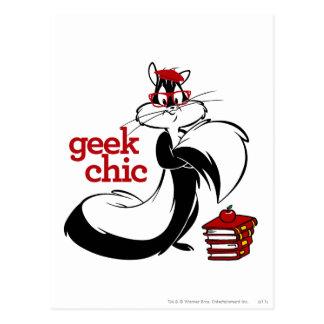 Cartão Postal Penélope - chique do geek