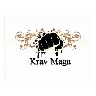 Cartão Postal Perfurador de Krav Maga