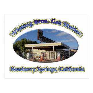 Cartão Postal Pescadas Bros. Posto de gasolina