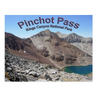 Cartão Postal Pinchot passa sobre a John Muir a fuga
