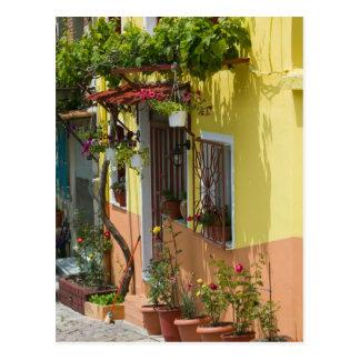 Cartão Postal PISCINA, ilhas do Egeu do nordeste, LESVOS