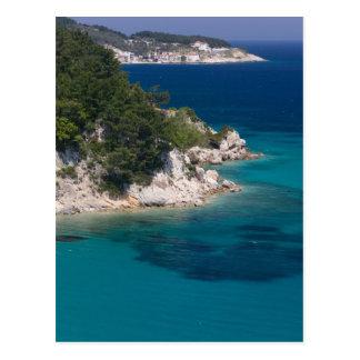 Cartão Postal PISCINA, ilhas do Egeu do nordeste, SAMOS,