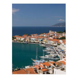 Cartão Postal PISCINA, ilhas do Egeu do nordeste, SAMOS, 3