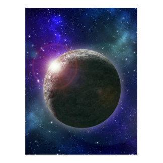 Cartão Postal Planeta dos sonhos,