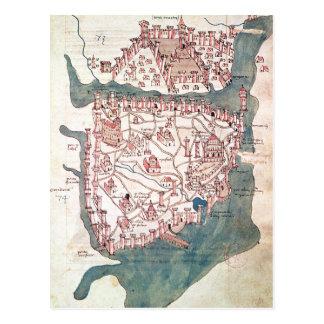 Cartão Postal Plano de Constantinople