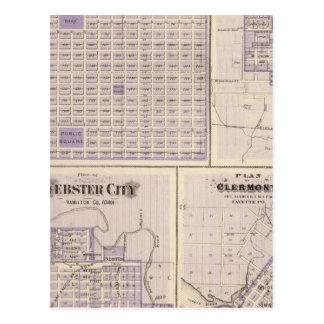 Cartão Postal Planos de Osage, união ocidental