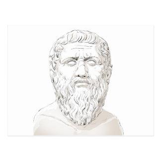 Cartão Postal Plato