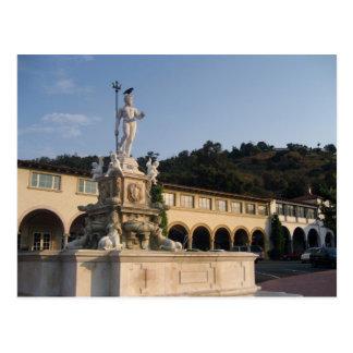 Cartão Postal Plaza da angra de Malaga